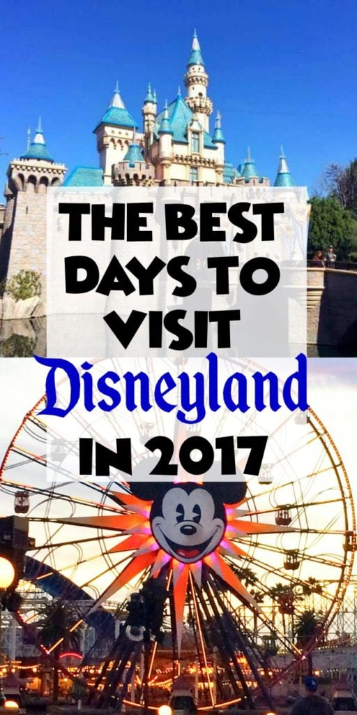 Disneyland Crowd Calendar for every month is 2017. The BEST and WORST Days to Visit Disneyland
