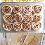 Butter Pecan Cake Mix Cinnamon Rolls Pinterest Image