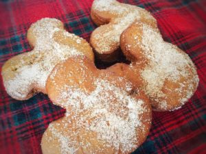 Gingerbread Beignets Recipe from Disneyland Holiday Recipes