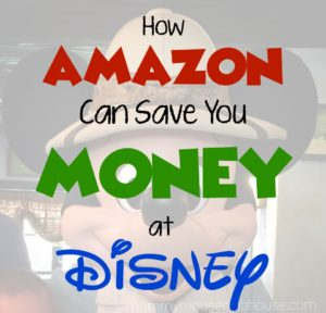 How Amazon Can Save You Money at Disney