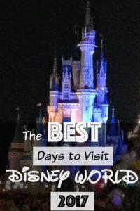 Best Days to Visit Disney World 2017