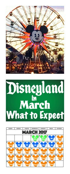 Disneyland in March: What to Expect