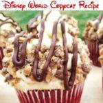 """Text, Red Velvet Cheesecake Cupcakes Disney World Copycat Recipe"""", Red Velvet Cheesecake Cupcakes"""