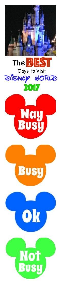 Best Days to Visit Disney World