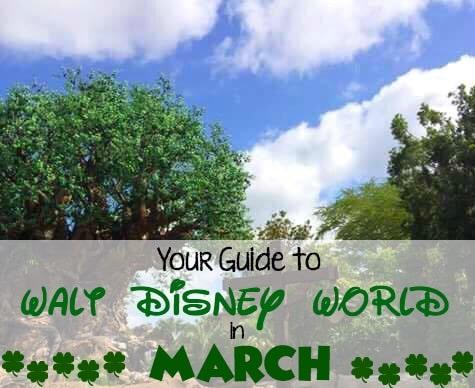 Your Guide to Disney World in March