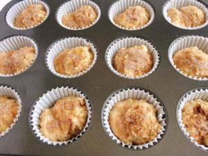 Easy Cinnamon Swirl Banana Bread Muffins