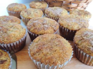Easy Cinnamon Swirl Banana Bread Muffins