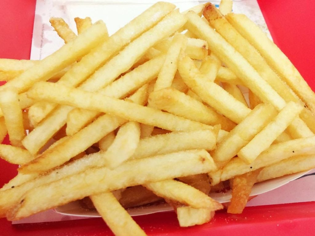 French fries from In-N-Out Burger