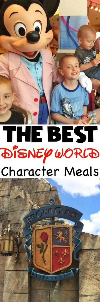 The Best Disney World Character Meals