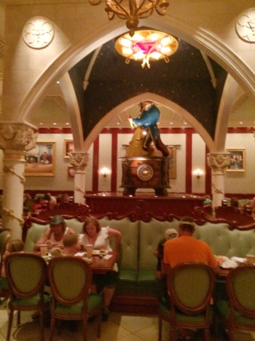 Dining room at Be Our Guest Restaurant
