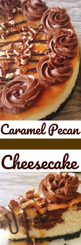 Caramel Pecan Turtle Cheesecake Copycat Recipe from Cheesecake Factory