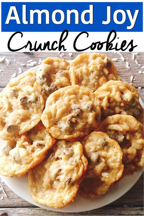 Almond Joy Crunch Cookies