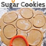 Easy Pumpkin Sugar Cookies
