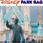 Pinterest Image Top Ten Disney Park Bag Essentials