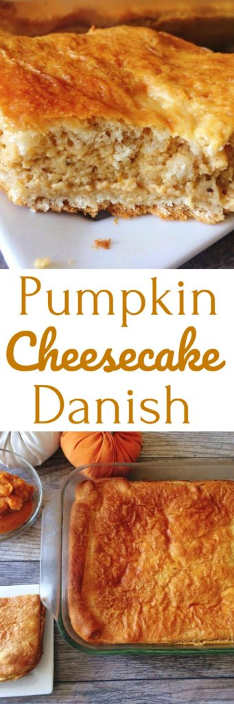 Easy Pumpkin Cheesecake Danish