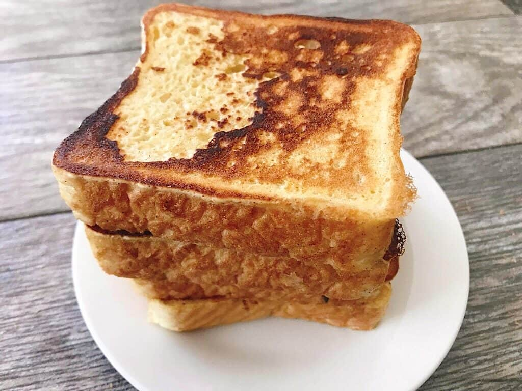 a stack of French Toast