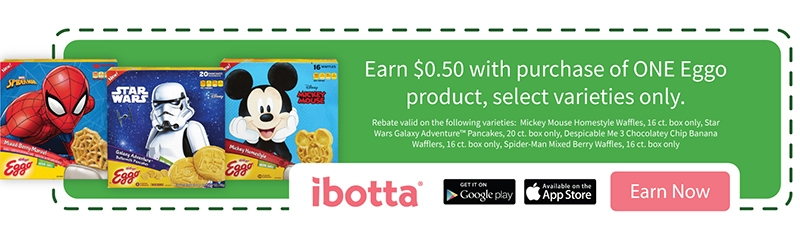 Ibotta Offers for Kellogg's Eggo Waffles