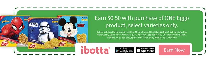 Ibotta Offers for Kellogg's Eggo Waffles
