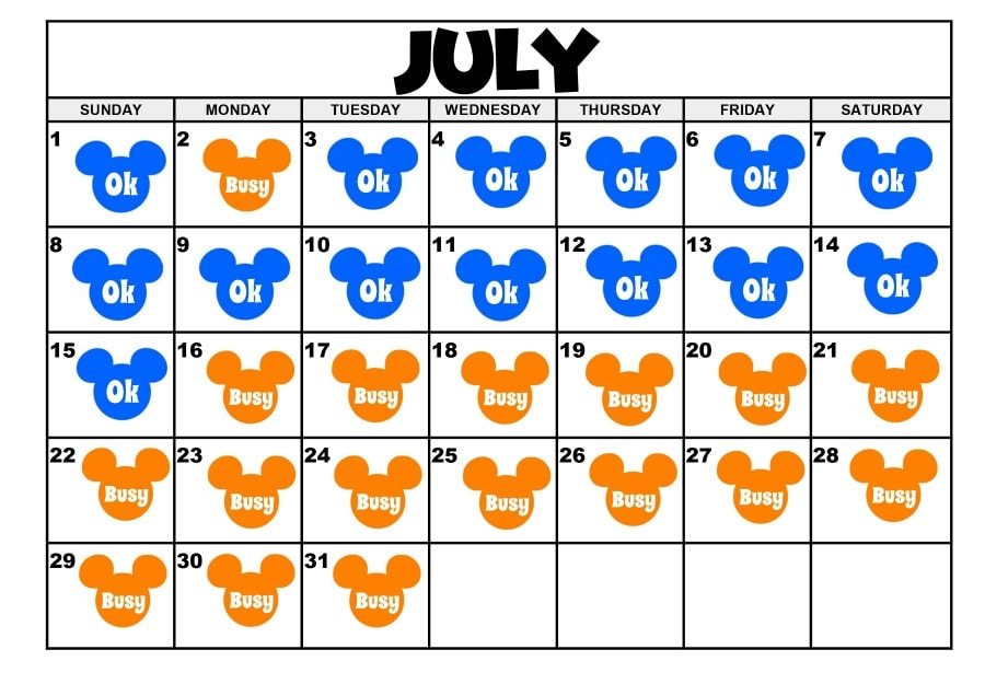 Best Days to Visit Disneyland 2018