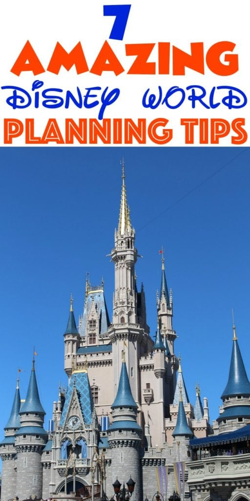 Disney World Planning Tips