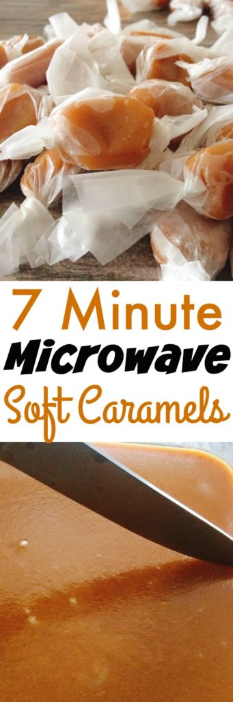 Easy Microwave Soft Caramels