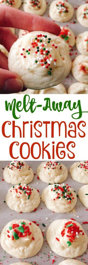 Melt-Away Christmas Cookies