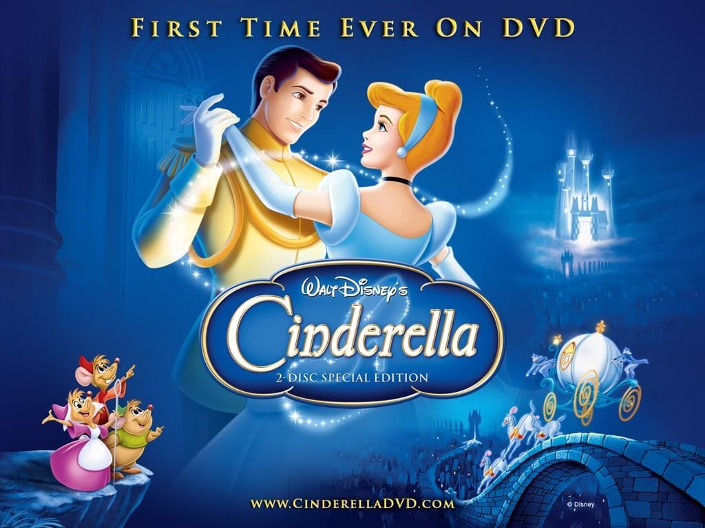 Cover of Disney's Cinderella movie