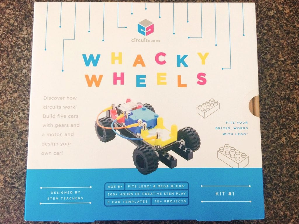 Box of Circuit Whacky Wheels