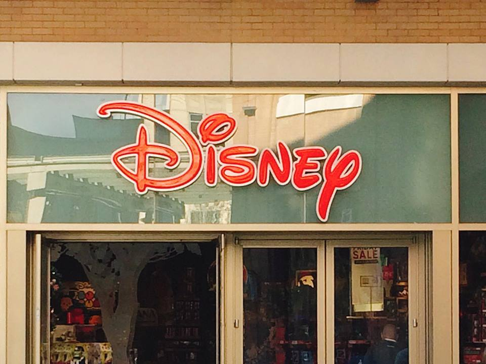 Disney Store Front