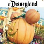 """Text that says """"Tips and Tricks for Mickey's Halloween Party at Disneyland"""""""