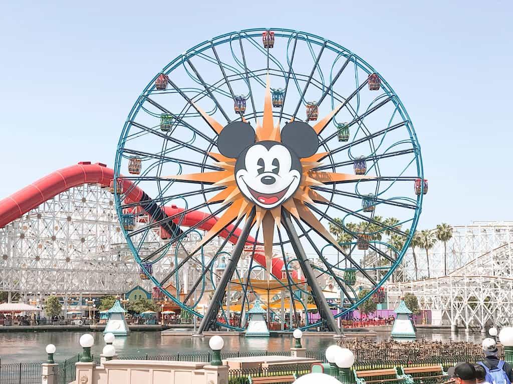 Pixar Pal A Round Ferris Wheel at Disneyland