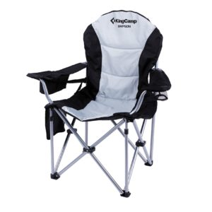 Every Sports Mom needs a black and white camp chair