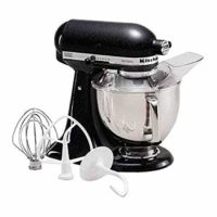 KitchenAid KSM150PSBM 5 qt. Artisan Series Stand Mixer - Black Matte