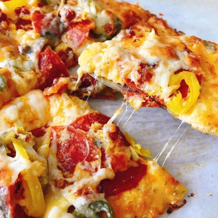 The BEST Keto Pizza