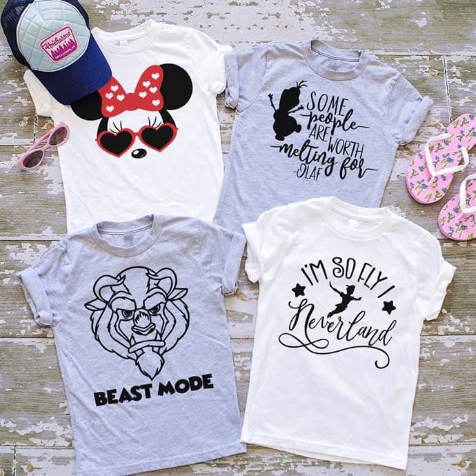 Disney shirts for Kids.