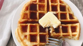 Sweet Cream Waffles