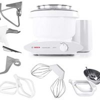 Bosch Universal Plus Stand Mixer, with NutriMill Baker's Accessory Pack