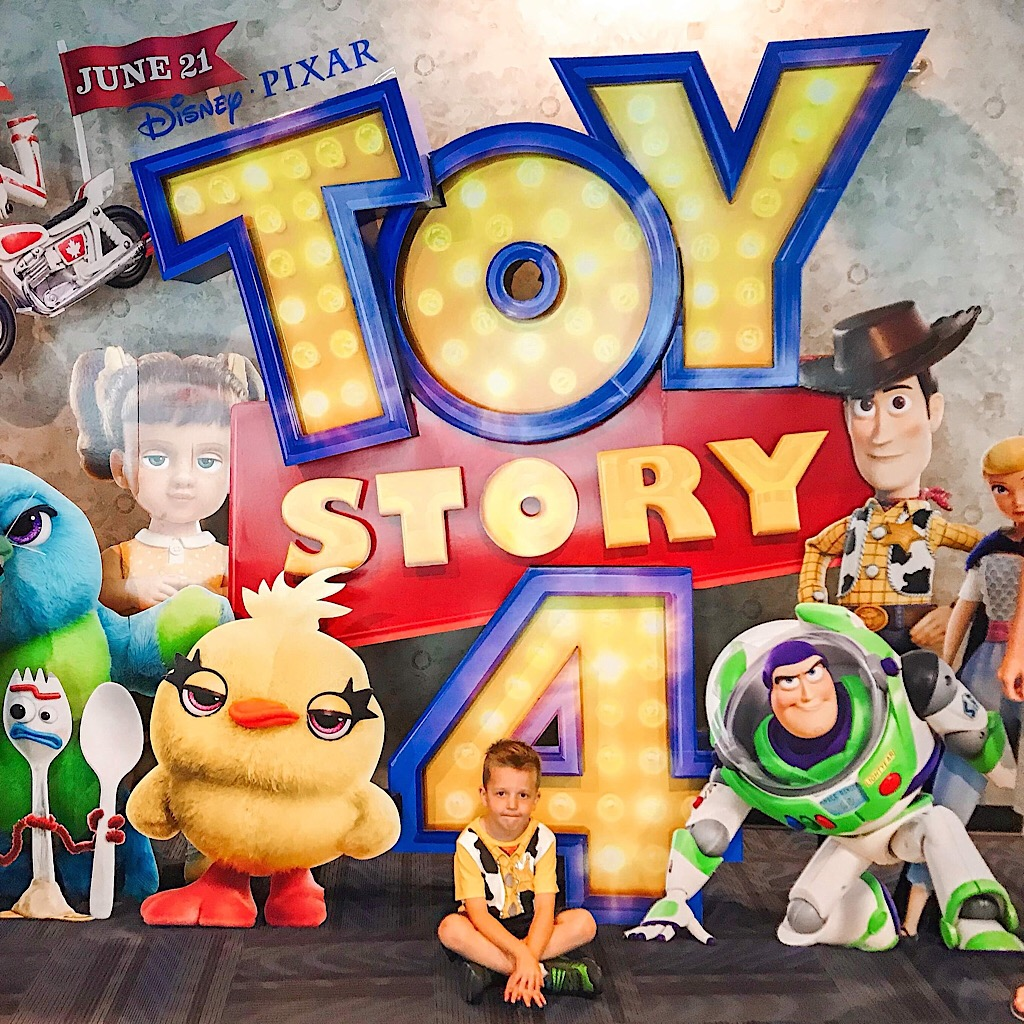 The movie poster from Toy Story 4