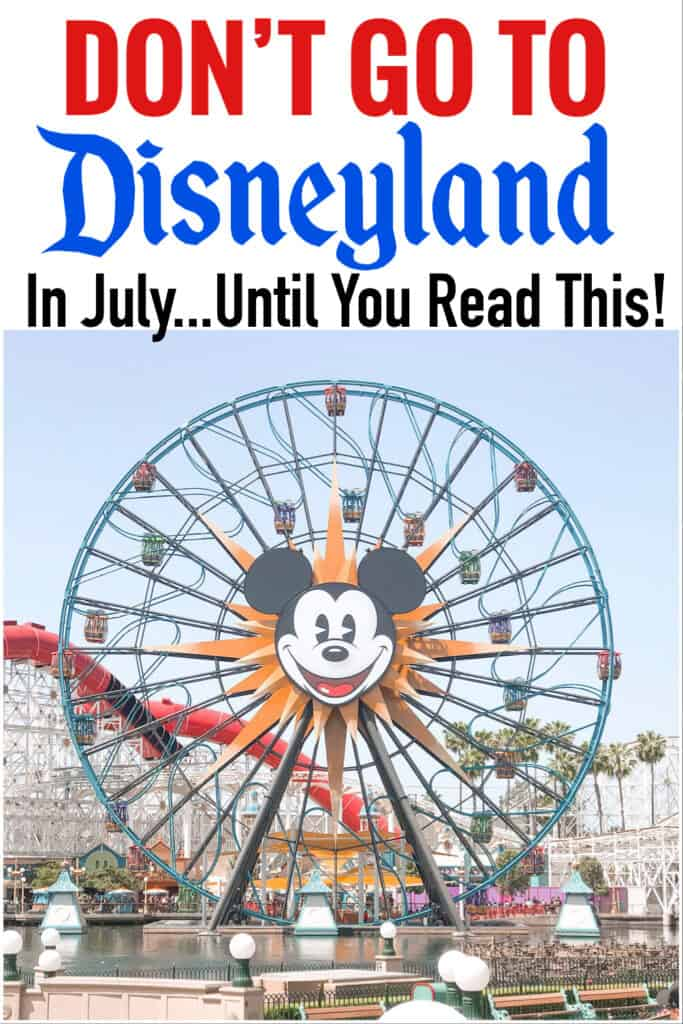 "Text ""Do Not Go To Disneyland in July...Until You Read This!"