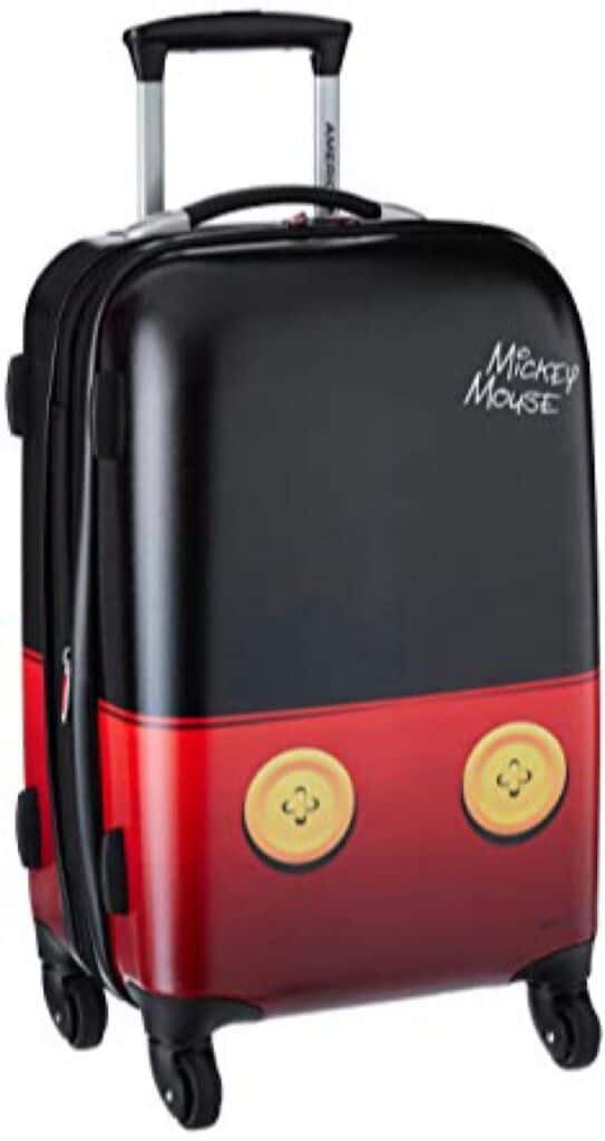 A Mickey Mouse Suitcase
