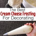 The best cream cheese frosting for decorating