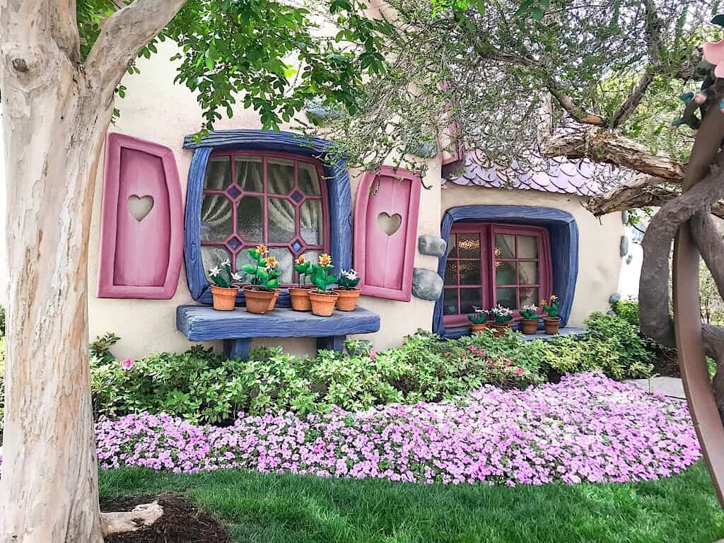 Minnie Mouse's House at Disneyland
