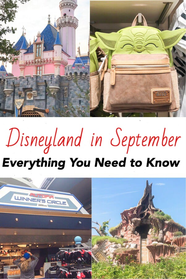 Disneyland in September Everything You Need to Know