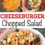 Cheeseburger Chopped Salad