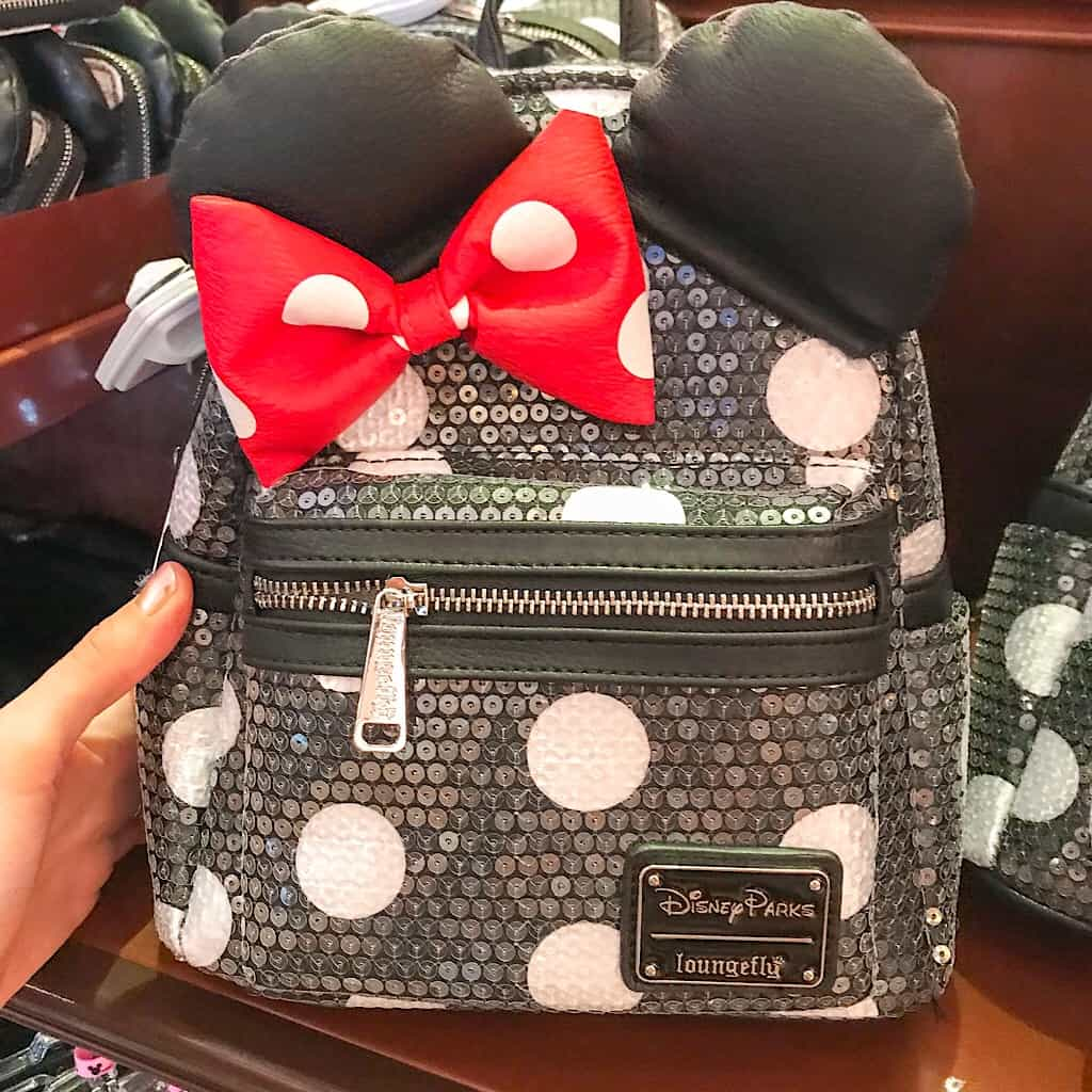Minnie Mouse Backpack at Disneyland