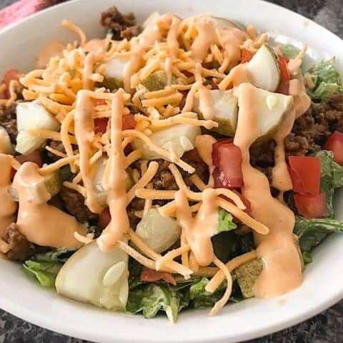 Big Mac Chopped Salad