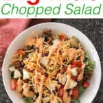 Big Mac Chopped Salad
