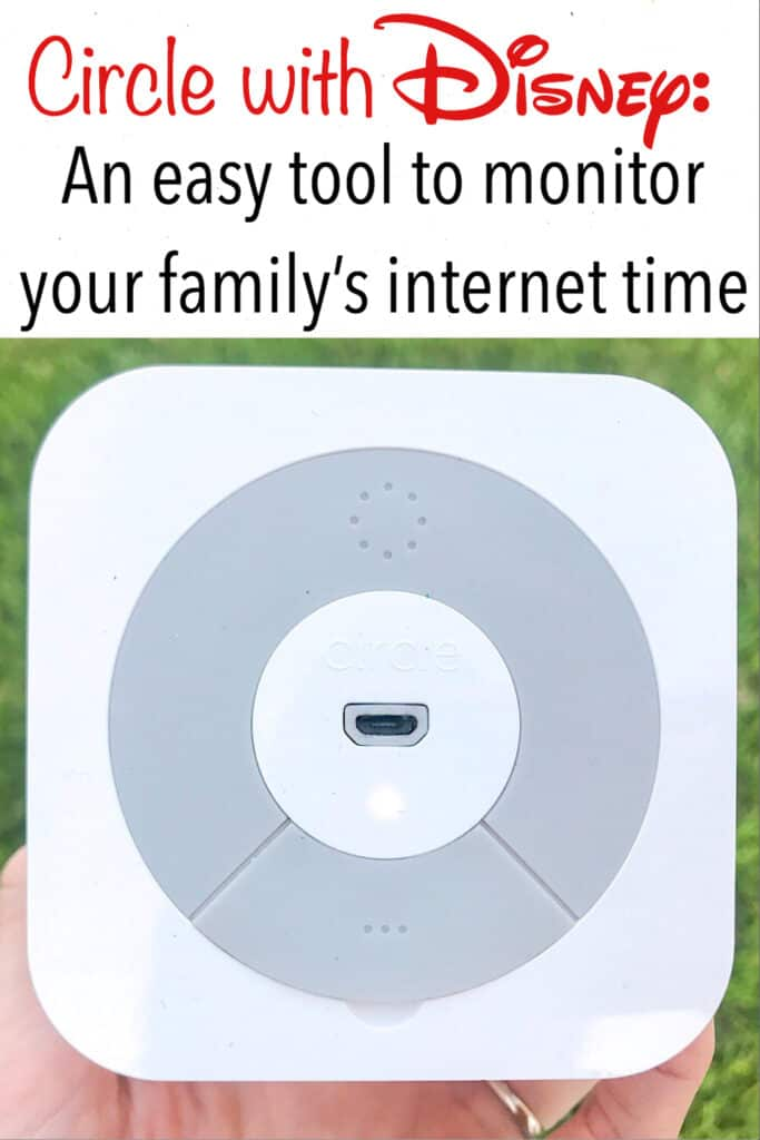 Circle with Disney: An easy tool to monitor your family's internet time