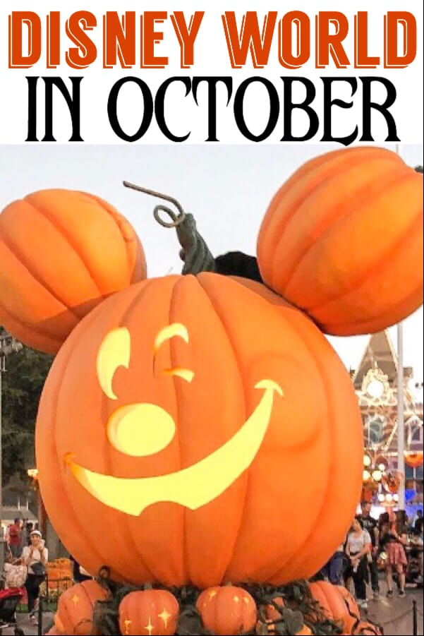 Disney World in October