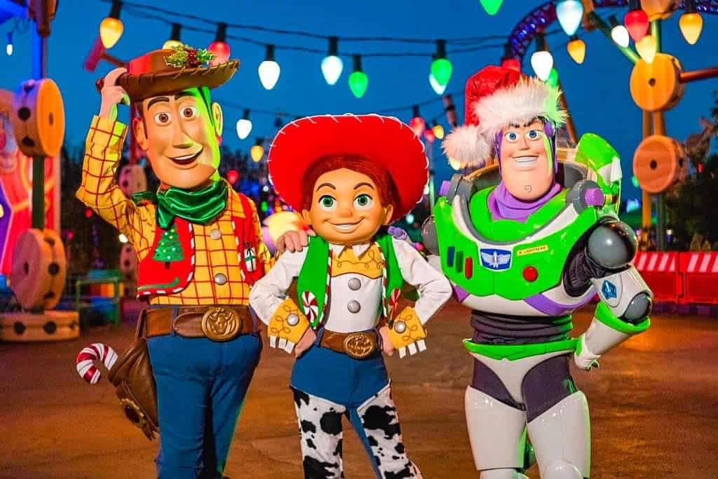 Woody, Jessie, and Buzz